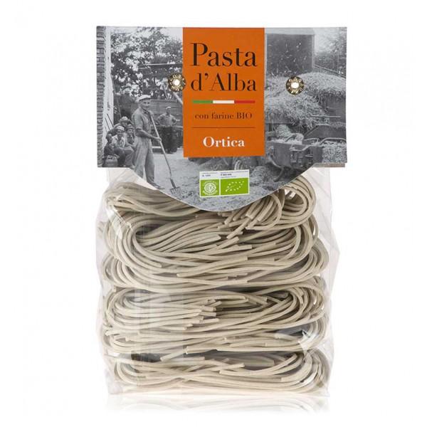 Pasta d'Alba - Tagliolini all'Ortica Bio - Linea Artigianale - Pasta Italiana Biologica Artigianale