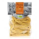 Pasta d'Alba - Tagliolini alla Curcuma Bio - Linea Artigianale - Pasta Italiana Biologica Artigianale