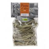 Pasta d'Alba - Tagliatelle Verdi Bio - Linea Artigianale - Pasta Italiana Biologica Artigianale