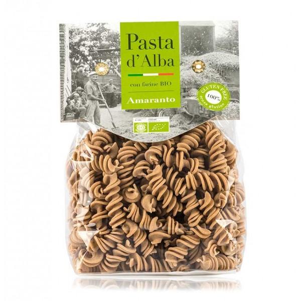 Pasta d'Alba - Fusilli di Amaranto Bio - Linea Senza Glutine - Pasta Italiana Biologica Artigianale