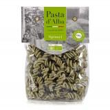 Pasta d'Alba - Fusilli di Riso e Spinaci Bio - Linea Senza Glutine - Pasta Italiana Biologica Artigianale