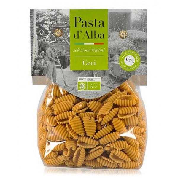Pasta d'Alba - Gnocchetti di Ceci Bio - Linea Senza Glutine - Pasta Italiana Biologica Artigianale