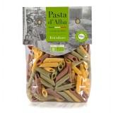 Pasta d'Alba - Penne di Mais Tricolore Bio - Linea Senza Glutine - Pasta Italiana Biologica Artigianale