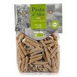 Pasta d'Alba - Penne di Piselli Verdi Bio - Linea Senza Glutine - Pasta Italiana Biologica Artigianale