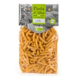 Pasta d'Alba - Penne di Mais Bio - Linea Senza Glutine - Pasta Italiana Biologica Artigianale