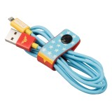 Tribe - Joker - Batman - DC Comics - Cavo Lightning USB - Dati e Ricarica per Apple iPhone - Certificato MFi - 120 cm