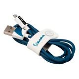 Tribe - Biancospino - Vespa - Cavo Lightning USB - Trasmissione Dati e Ricarica per Apple iPhone - Certificato MFi - 120 cm