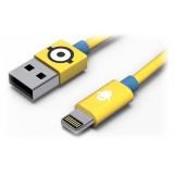 Tribe - Carl - Minions - Cavo Lightning USB - Trasmissione Dati e Ricarica per Apple iPhone - Certificato MFi - 120 cm