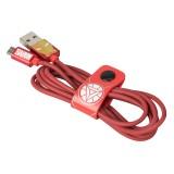 Tribe - Iron Man - Marvel - Cavo Micro USB - Trasmissione Dati e Ricarica per Android, Samsung, HTC, Nokia, Sony - 120 cm