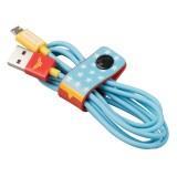 Tribe - Joker - Batman - DC Comics - Cavo Micro USB - Dati e Ricarica per Android, Samsung, HTC, Nokia, Sony - 120 cm