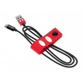 Tribe - Topolino - Disney - Cavo Micro USB - Trasmissione Dati e Ricarica per Android, Samsung, HTC, Nokia, Sony - 120 cm