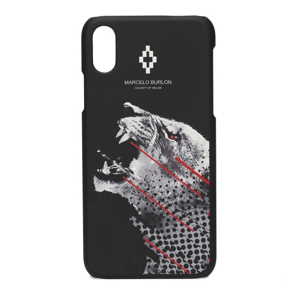 Marcelo Burlon - Cover Sham - iPhone X - Apple - County of Milan - Cover Stampata