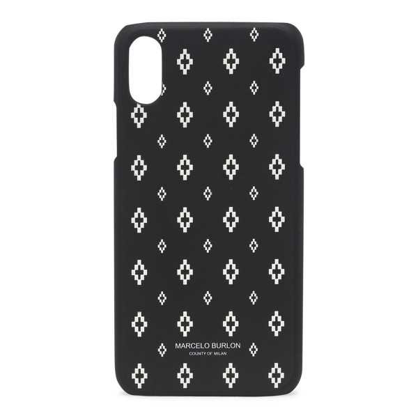 Marcelo Burlon - Cover All Over Cross - iPhone X - Apple - County of Milan - Cover Stampata