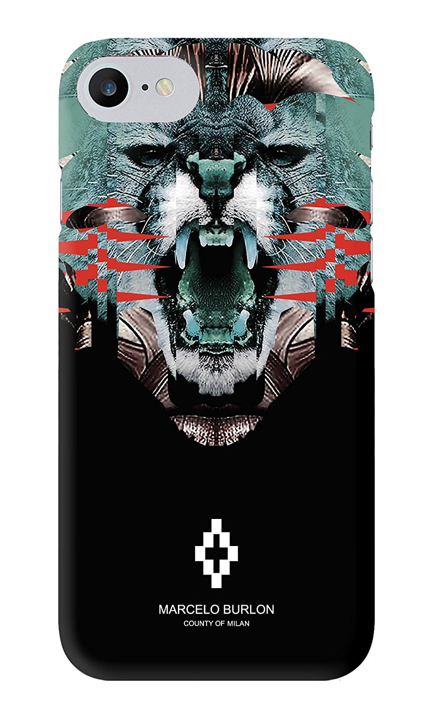 finest selection b1e06 29994 Marcelo Burlon - Matawen Cover - iPhone 8 / 7 - Apple - County of Milan -  Printed Case
