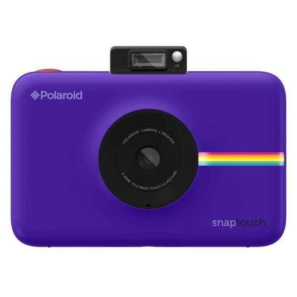 Polaroid - Polaroid Snap Touch Instant Print Digital Camera With LCD Display (Violet) with Zink Zero Ink Printing Technology