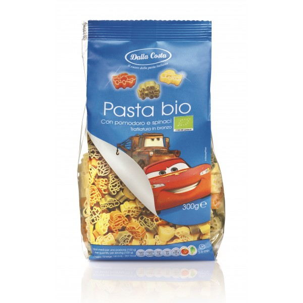 Dalla Costa - Organic Cars Pasta Tricolor