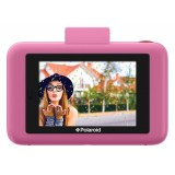Polaroid - Polaroid Snap Touch Instant Print Digital Camera With LCD Display (Pink) with Zink Zero Ink Printing Technology