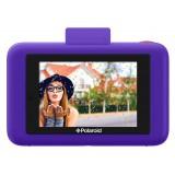 Polaroid - Fotocamera Digitale Snap Touch a Stampa Istantanea con Schermo LCD (Viola) e Tecnologia di Stampa Zink Zero Ink
