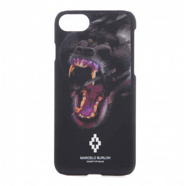 Marcelo Burlon - Cover Teukenk - iPhone 8 Plus / 7 Plus - Apple - County of Milan - Cover Stampata
