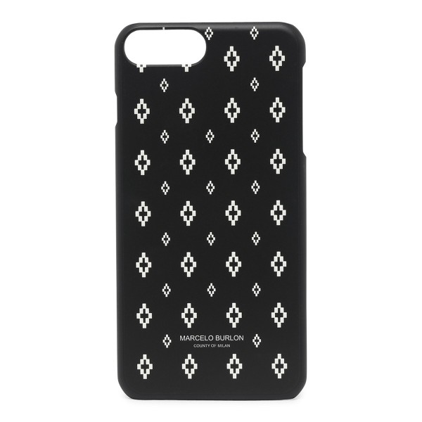 Marcelo Burlon - Cover All Over Cross - iPhone 8 Plus / 7 Plus - Apple - County of Milan - Cover Stampata