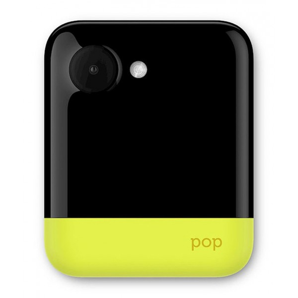 "Polaroid - POP Camera 3x4"" - Instant Print with ZINK Zero Ink Printing Technology - Yellow"