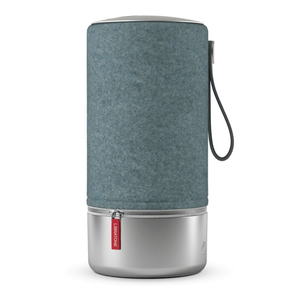 Libratone - Zipp Copenhagen - Blu Acciaio - Altoparlante di Alta Qualità - Airplay, Bluetooth, Wireless, DLNA, WiFi