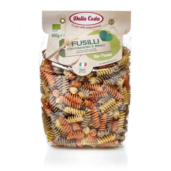 Dalla Costa - Fusilli Tricolore Bio - Pomodoro e Spinaci