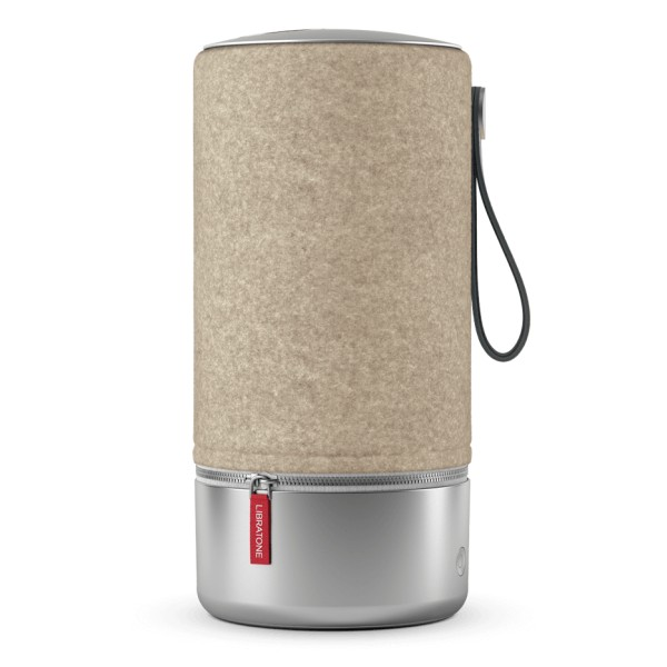 Libratone - Zipp Copenhagen - Almond Brown - High Quality Speaker - Airplay, Bluetooth, Wireless, DLNA, WiFi