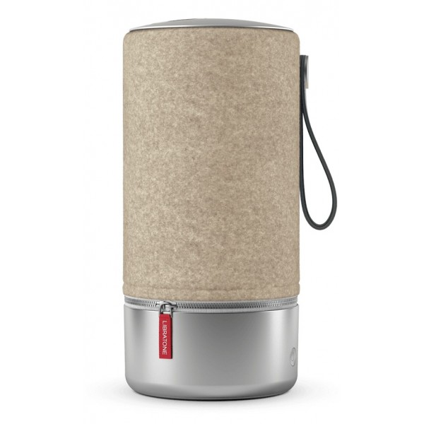 Libratone - Zipp Copenhagen - Marrone Mandorla - Altoparlante di Alta Qualità - Airplay, Bluetooth, Wireless, DLNA, WiFi