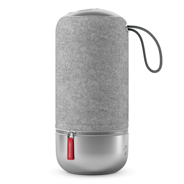 Libratone - Zipp Mini Copenhagen - Grigio Salato - Altoparlante di Alta Qualità - Airplay, Bluetooth, Wireless, DLNA, WiFi