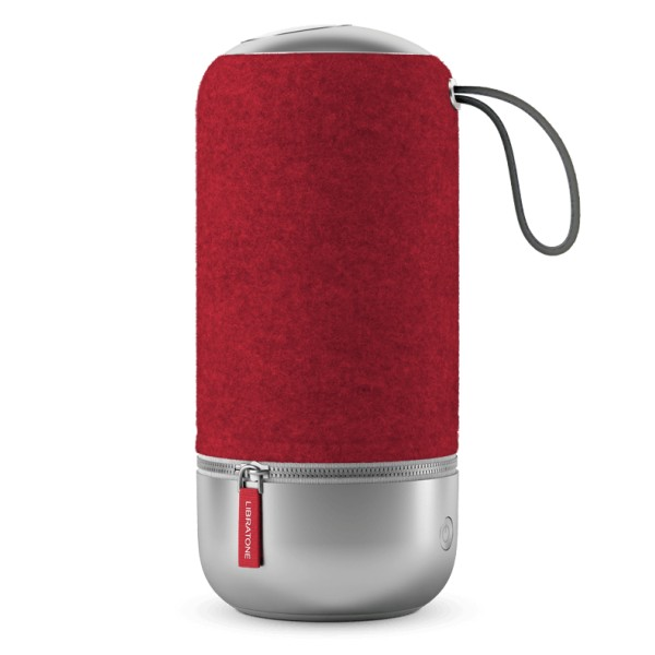 Libratone - Zipp Mini Copenhagen - Rosso Lampone - Altoparlante di Alta Qualità - Airplay, Bluetooth, Wireless, DLNA, WiFi