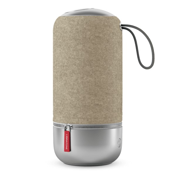 Libratone - Zipp Mini Copenhagen - Almond Brown - High Quality Speaker - Airplay, Bluetooth, Wireless, DLNA, WiFi