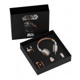 Tribe - BB-8 - Star Wars - Gift Box - Chiavetta USB 16 GB - Caricabatteria Auto - Auricolari - Cuffie On-Ear - Cavo Micro USB