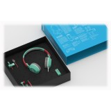 Tribe - Aquamarine - Vespa - Gift Box - Chiavetta USB 16 GB - Car Charger - Auricolari - Cuffie On-Ear - Cavo Micro USB