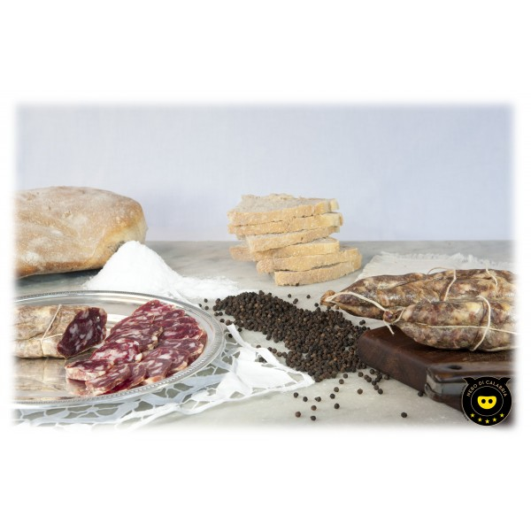 Nero di Calabria - White Suppressed - Artisan Cured Meat - Calabria Tradition - 400 g