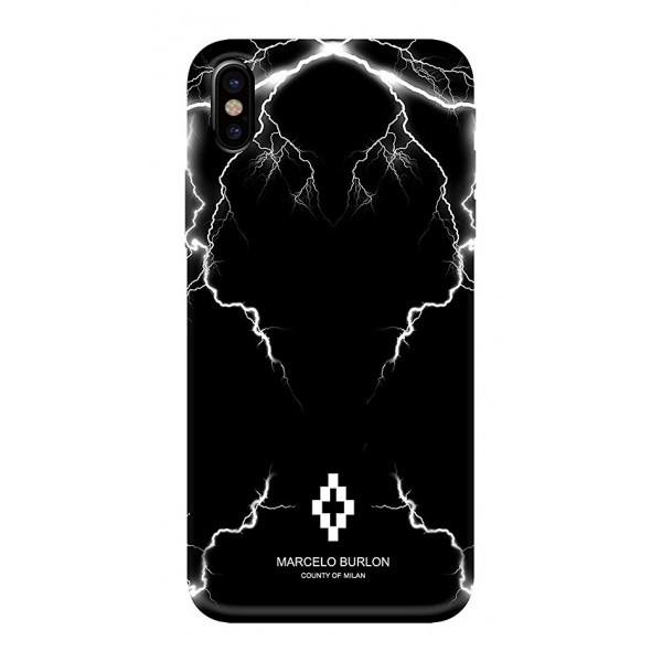 Marcelo Burlon - Cover Telgo - iPhone X - Apple - County of Milan - Cover Stampata