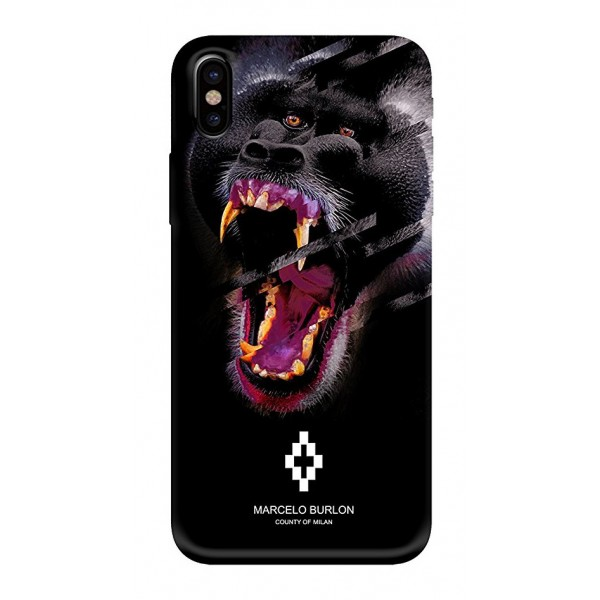 Marcelo Burlon - Cover Teukenk - iPhone X - Apple - County of Milan - Cover Stampata