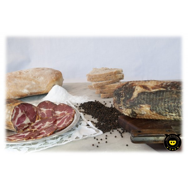 Nero di Calabria - Capocollo - Artisan Cured Meat - Calabria Tradition - 500 g