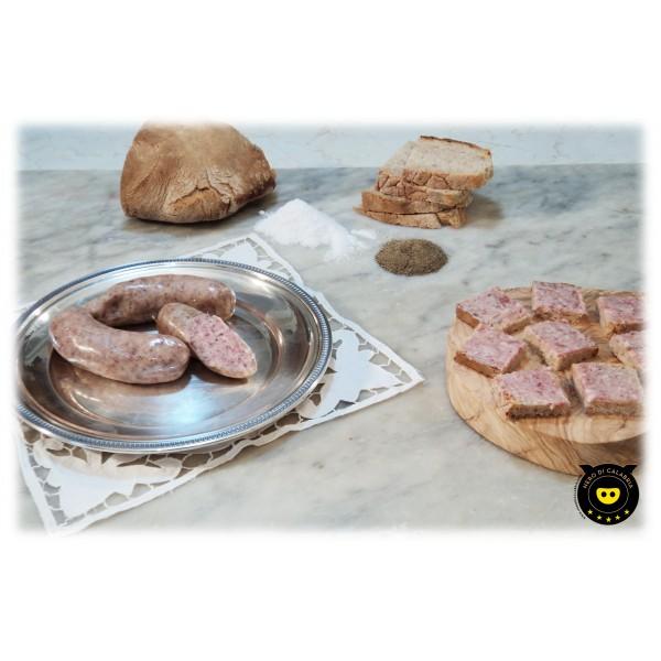 Nero di Calabria - Patenero - Salumi Artigianali - Tradizione Calabra - 300 g