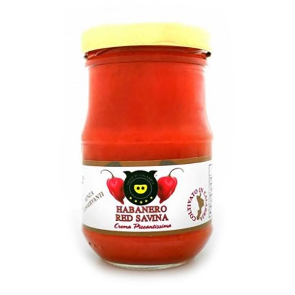 Nero di Calabria - Crema di Habanero - Conserve Artigianali - Tradizione Calabra - 90 g