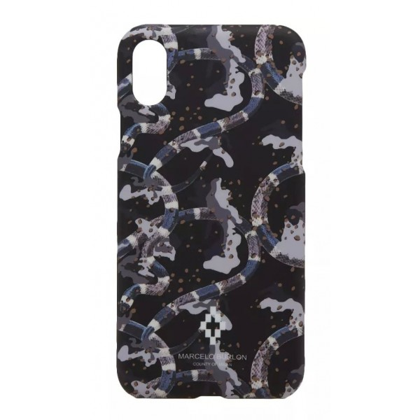 Marcelo Burlon - Cover Camouflage - iPhone X - Apple - County of Milan - Cover Stampata