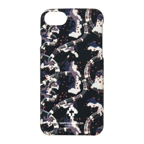 Marcelo Burlon - Cover Camouflage - iPhone 8 / 7 - Apple - County of Milan - Cover Stampata