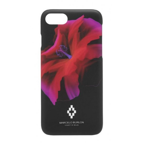 Marcelo Burlon - Cover Red Flower - iPhone 8 Plus / 7 Plus - Apple - County of Milan - Cover Stampata