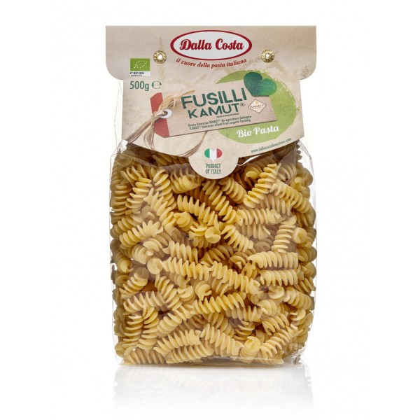 Dalla Costa - Fusilli with Organic Kamut