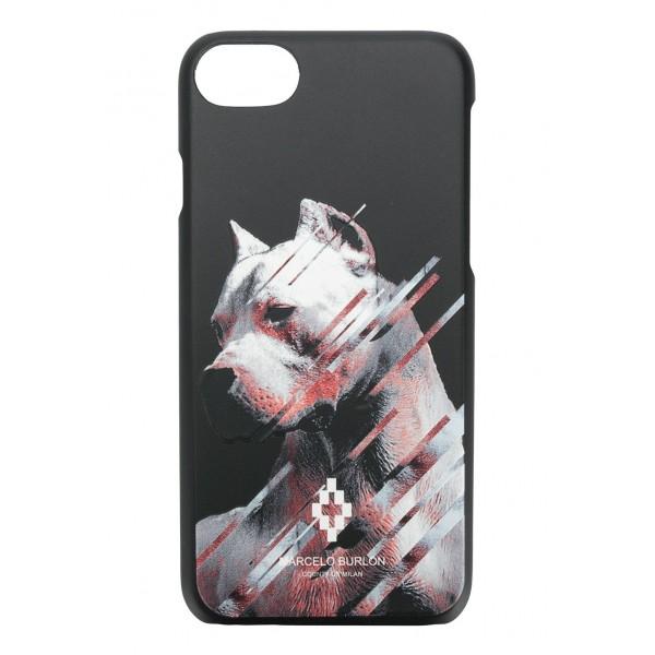 Marcelo Burlon - Dog Cover - iPhone 8 Plus / 7 Plus - Apple - County of Milan - Printed Case - Avvenice