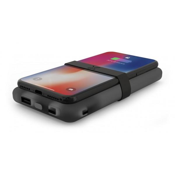 Philo - Caricabatteria Wireless Portatile ad Alta Capacità per Telefoni Cellulari - Nero - Batterie Portatili - 10000 mAh