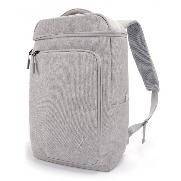 22087c7fbe Philo - Smart Backpack - Backpack with Smart Integrated USB Charging Port -  Laptop Notebook 15  - Light Grey - Backpacks - Avvenice