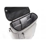 Philo - Smart Backpack - Zaino Intelligente con Porta di Ricarica USB Integrata - Notebook Laptop 15' - Grigio Chiaro - Zaini