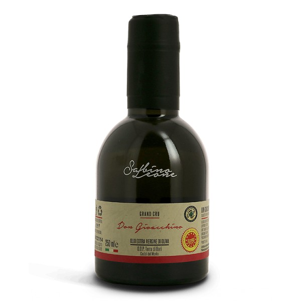 Sabino Leone - Don Gioacchino - Grand Cru - Olio Extravergine di Oliva Biologico Italiano - 250 ml