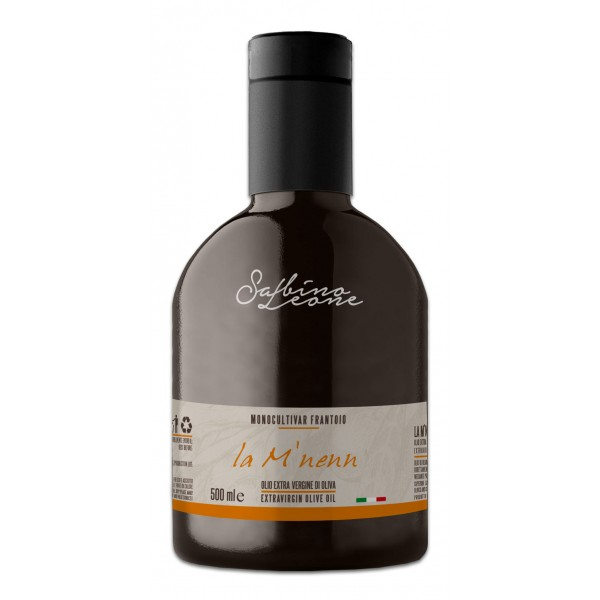 Sabino Leone - La M'nenn - Organic Italian Extra Virgin Olive Oil - 500 ml